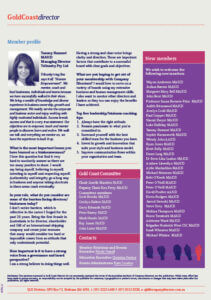 Member Profile Tammy Hamawi Gold Coast Director magazine article