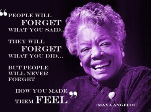 Maya Angelou quote and image