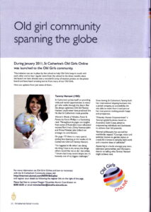 Old girl community spanning the globe article by Tammy Hamawi